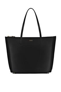 Черная сумка-шоппер Luce Furla