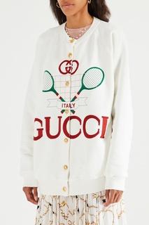 Свитшот на пуговицах Gucci
