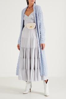 Вязаное голубое пальто Yana Dress