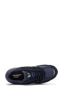 Темно-синие кроссовки 990v5 New Balance