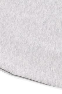 Серый свитшот с кнопками на плече Miki House