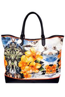 Хлопковая сумка с принтом Stella Mc Cartney