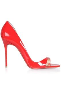 Кожаные туфли Toboggan 100 Patent Christian Louboutin