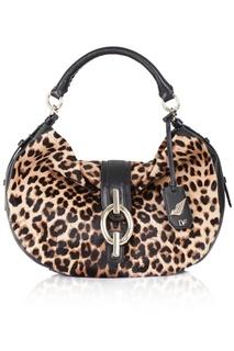 Кожаная сумка Sutra Hobo Leopard Diane Von Furstenberg