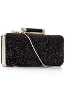 Кожаный клатч Tonda Diamond Dust Diane Von Furstenberg