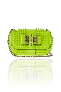 Кожаная сумка Sweety Charity Christian Louboutin