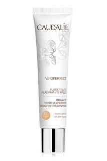 Тонирующий флюид «Совершенная кожа» SPF20 Vinoperfect 01 40ml Caudalie