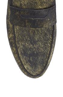 Кожаные лоферы Nani Ash