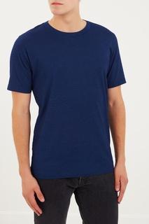 Базовая синяя футболка Made & Crafted Levis
