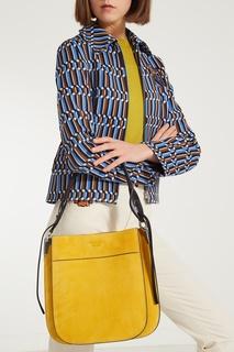 Желтая сумка Prada