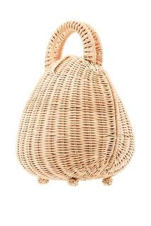 Круглая плетеная сумка Millie Cult Gaia