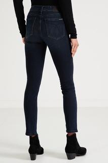Синие джинсы с лампасами Calvin Klein