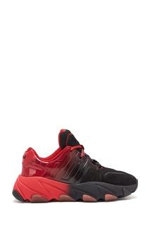 Красно-черные кроссовки Extasy Ash