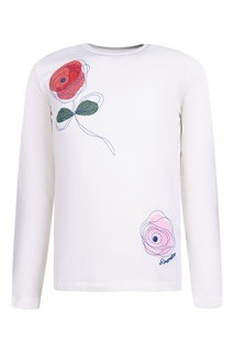 Комплект из лонгслива, юбки и кардигана Simonetta Mini