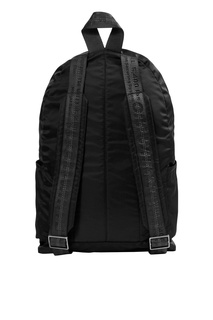 Черный рюкзак с накладными карманами Off White