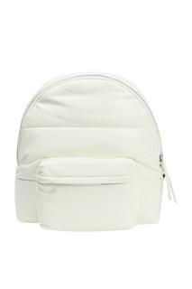 Белый рюкзак с черными лямками Ermanno Scervino