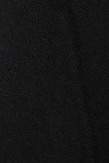 Платок черного цвета с кружевом Ermanno Scervino