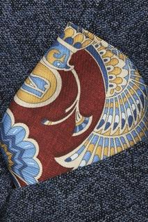 Разноцветный шелковый платок-паше Eton