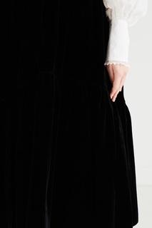 Черная бархатная юбка Abby Cecilie Bahnsen