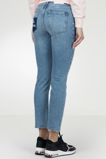 Голубые джинсы с отделкой кармана Pinko