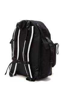 Черный рюкзак с надписью и логотипом Eastpak