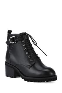 Кожаные ботинки с пряжкой в виде полуколец Portal
