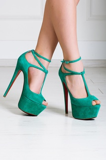 Замшевые туфли Talitha 160 Christian Louboutin