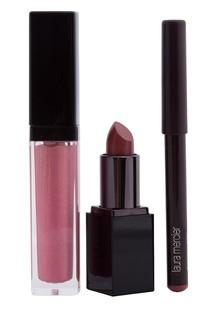 Набор «Трио идеальные губы» Pink Spark Laura Mercier