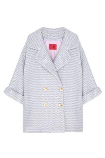Двубортное шерстяное пальто Izba Rouge