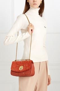 Кожаная сумка See by Chloé