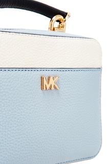 Бело-голубая сумка Crossbodies Michael Kors