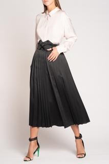 Черные брюки плиссе Off White