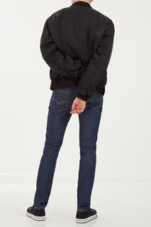 Черная куртка на молнии Dolce&Gabbana