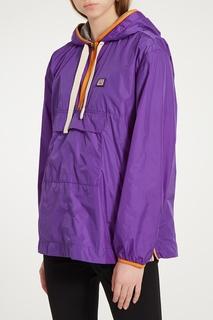 Фиолетовая куртка-анорак Acne Studios