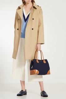Синяя сумка Mercer Gallery Michael Kors
