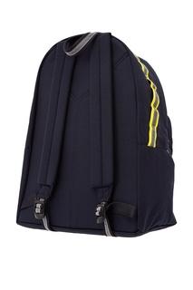 Красно-синий рюкзак Eastpak x White Mountaineering Doublr