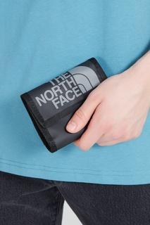 Серый бумажник с логотипом The North Face