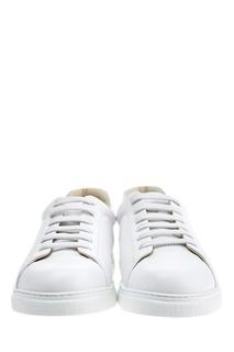 Белые кеды Canali