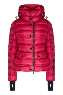 Куртка-пуховик сливового цвета Moncler