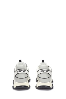 Кроссовки с комбинированным дизайном Lanvin