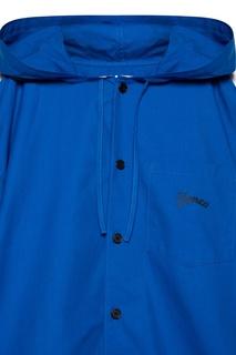 Синяя ветровка с капюшоном Kenzo