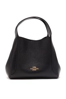 Черная сумка Hadley Hobo 21 Coach