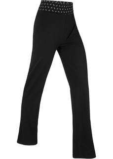 Спортивные брюки Брюки из трикотажа, Level 1 Bonprix