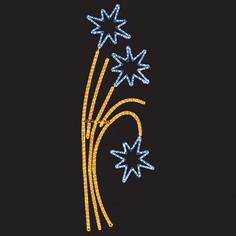 Панно световое (1.75x0.85 м) Звездный фейерверк 501-336 Neon Night