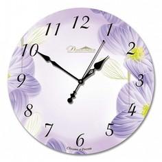 Настенные часы (33x33x4 см) Весеннее настроение 01-002 Династия