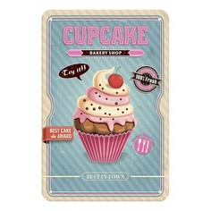Панно (20x30 см) Cupcakes TM-113-120 Ekoramka