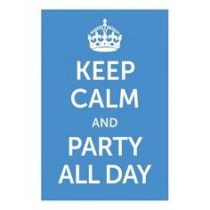 Панно (20x30 см) Party all day TM-113-157 Ekoramka