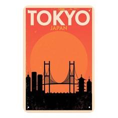 Панно (20x30 см) Tokyo TM-113-139 Ekoramka