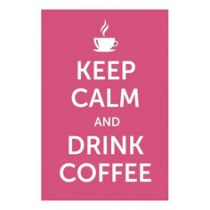 Панно (20x30 см) Drink coffee TM-113-158 Ekoramka