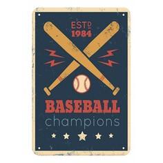 Панно (20x30 см) Baseball TM-113-150 Ekoramka
